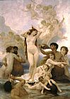 Famous Venus Paintings - Birth of Venus